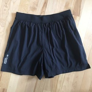 Columbia Montrail shorts with compression liner